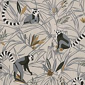 Maki jungle grey